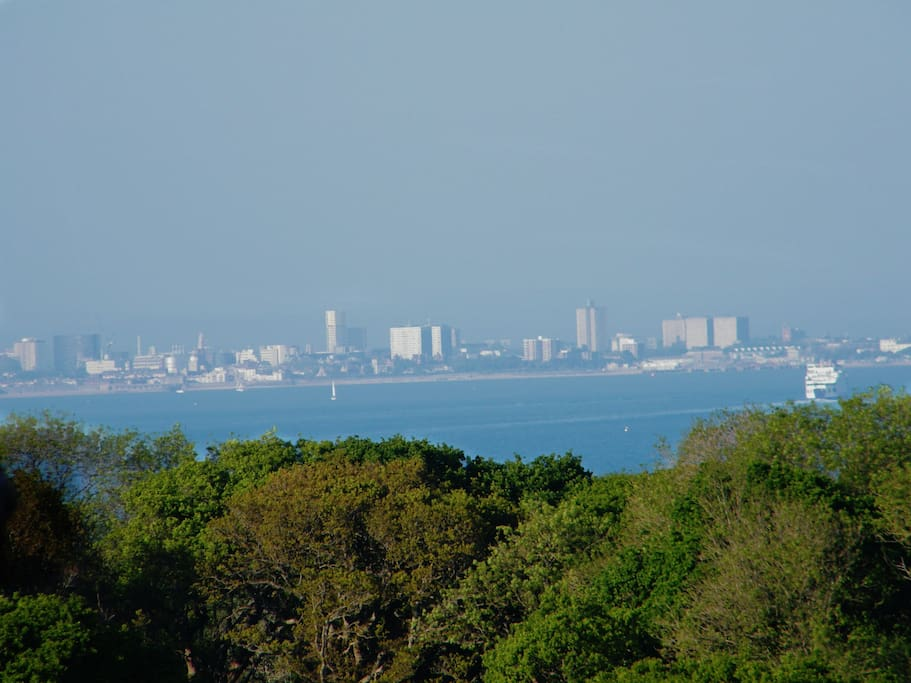 View of Portsmouth & The Solent