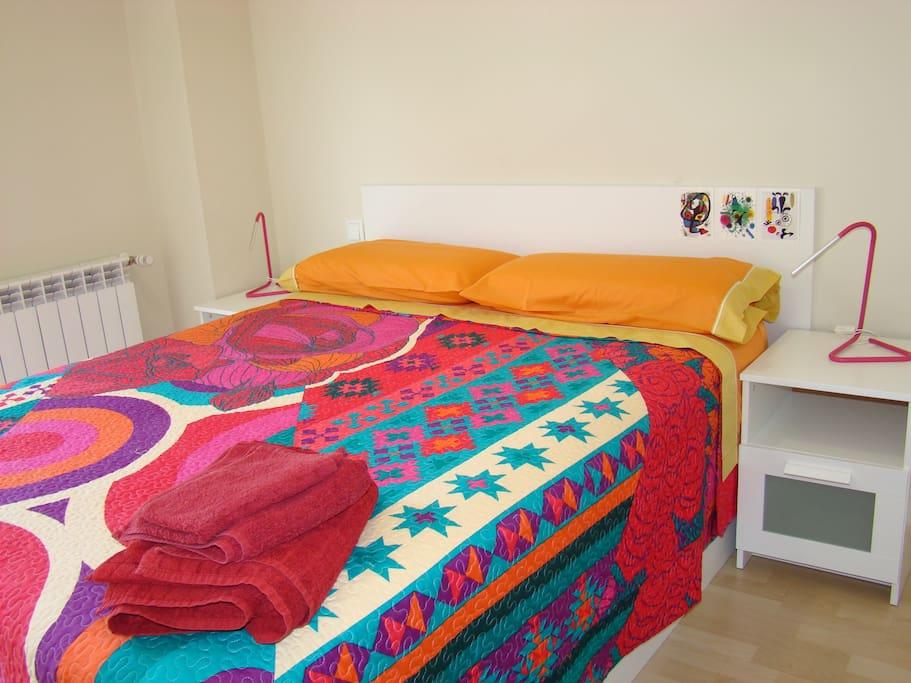 Habitación con cama XXL