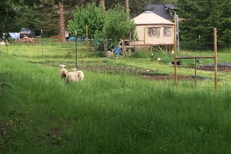 20 foot yurt on small farm - Casa