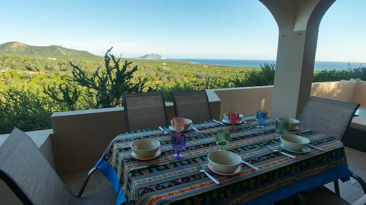 Casa El Coyote, 3bedroom Eco House near Cabo Pulmo