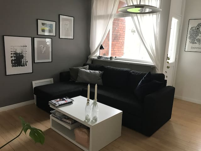 Wonderful apartment in peaceful area close to city