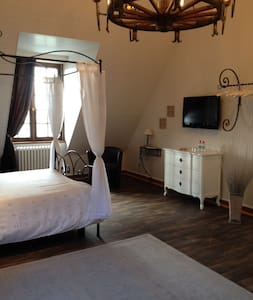 bed and breakfast with sea view - Saint-Malo - Szoba reggelivel