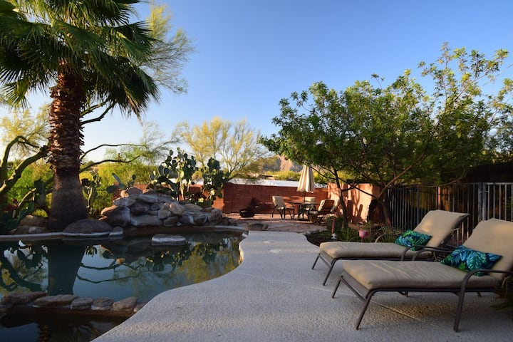 Enjoy Tucson in a Furnished Luxury Villa with Pool