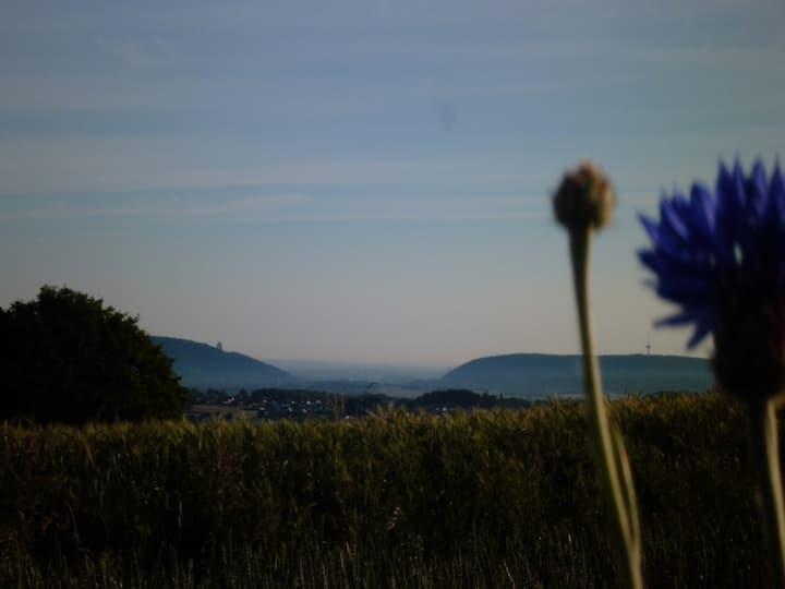 Schlafen am Burgwald/Weserradweg