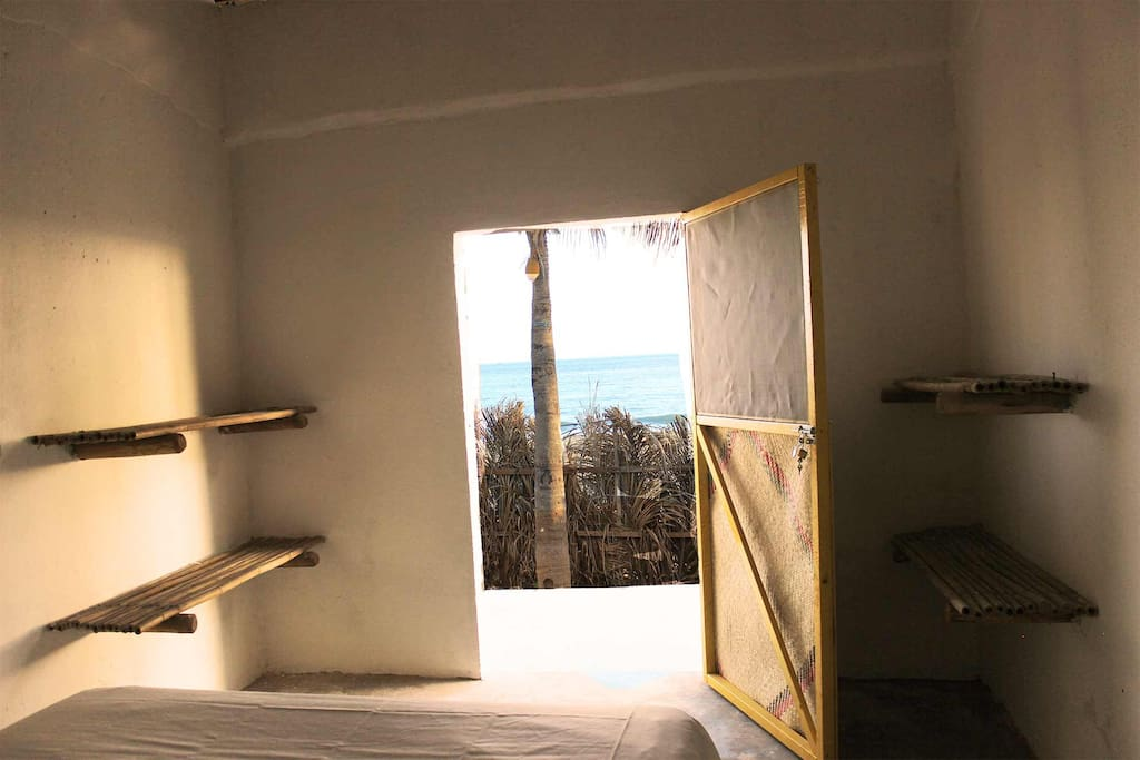 accommodation in San Agaustinillo, ocean view