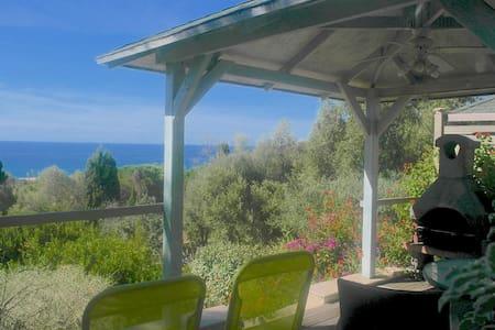 Studio Vue Mer à 250 mètres plage - Olmeto