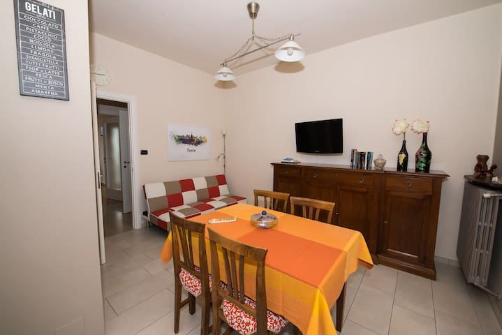 CaioMarioHome-FreeWifi+Parking+Views+Disabled - Torino - Leilighet