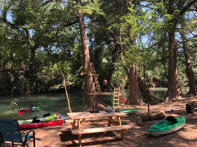 Cypress Springs Ranch Family Camp on Medina River