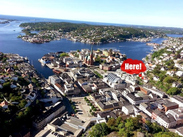 Nice apartment in the center of Arendal - Arendal - Daire