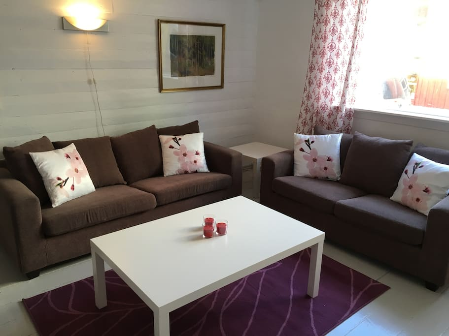 Living room with sofa area