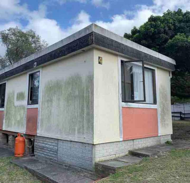 Self contained bungalow in popular holiday resort.