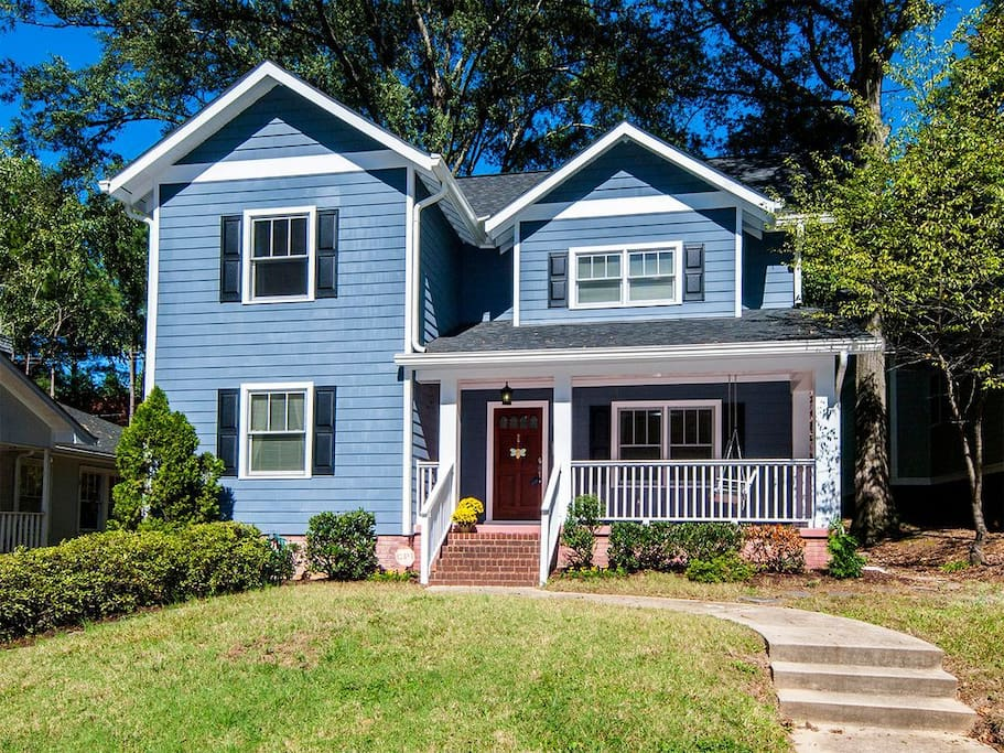 Large clean 4 br in plaza midwood houses for rent in charlotte north carolina united states for 4 bedroom homes for rent in charlotte nc