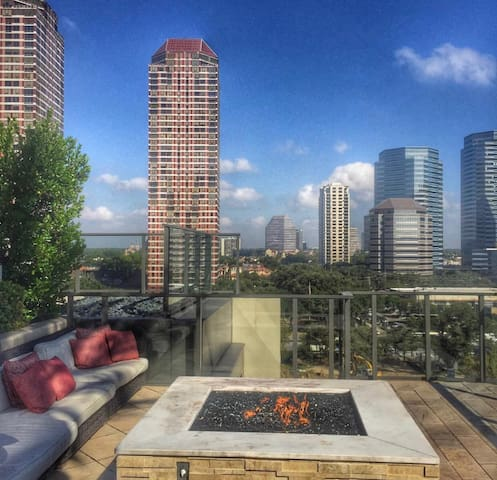 Luxurious Condo with a view! - Houston - Apartemen