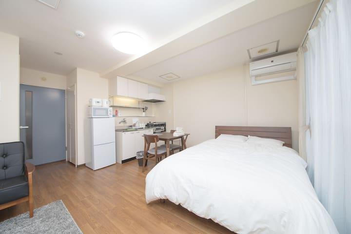 【すすきのエリアまで10分】近隣の観光地までスグの居心地の良いお部屋♪706号室
