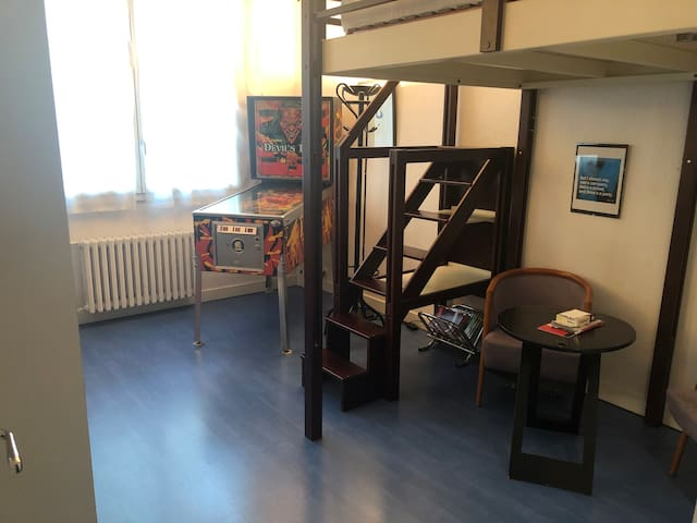 Chambre tout confort, Tour Eiffel, Bord de Seine