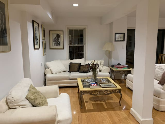 Beautiful English basement near Rock Creek Park