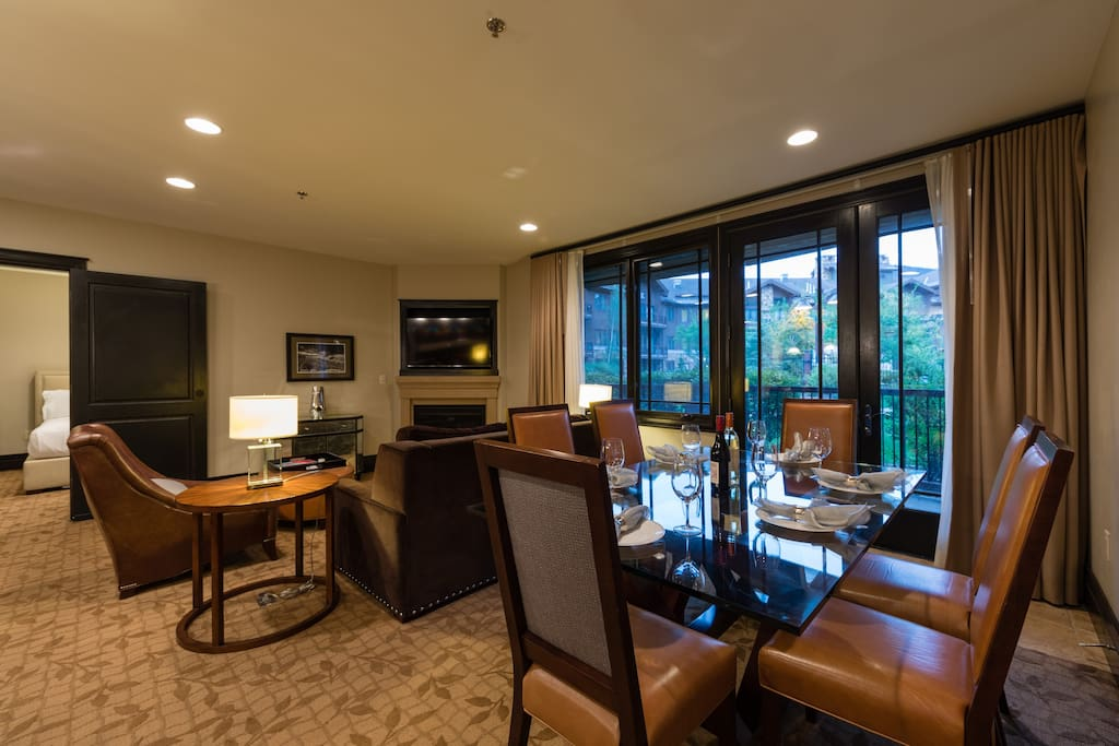 Spacious Living and Dining Room with Ground Floor Patio