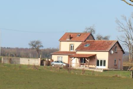 Le garde barrière belle maison à la campagne - Girondelle - Casa