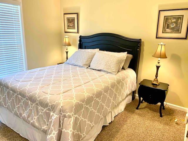 Bedroom # 1.  Queen Bed