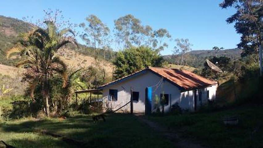 Sítio  Vovó Celinha, no Caminho Velho de Ibitipoca