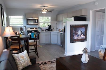 Pineapple Penthouse-cozy suite near dwntwn St.Pete
