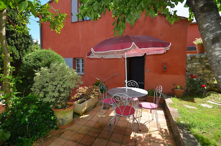 BIOT A/C Studio Apartment, terrace and parking