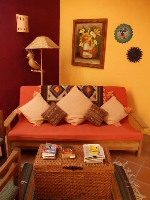 Living room upstairs unit