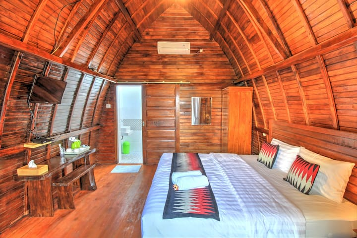 Sunny Point Penida, Wooden Cabin with Sea View #2