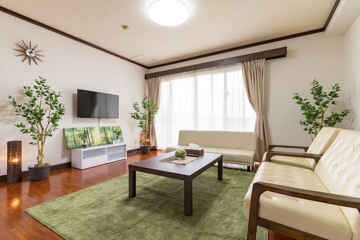 NEW!Near town/Free Parking/WiFi/Luxurious Room#AX5
