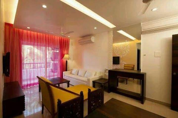 Luxurious 1BHK Apt near Baga Goa. - Arpora - Appartement