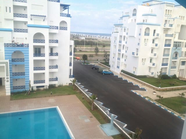 A new apartment with sea view at Martil beach - Martil - Appartamento