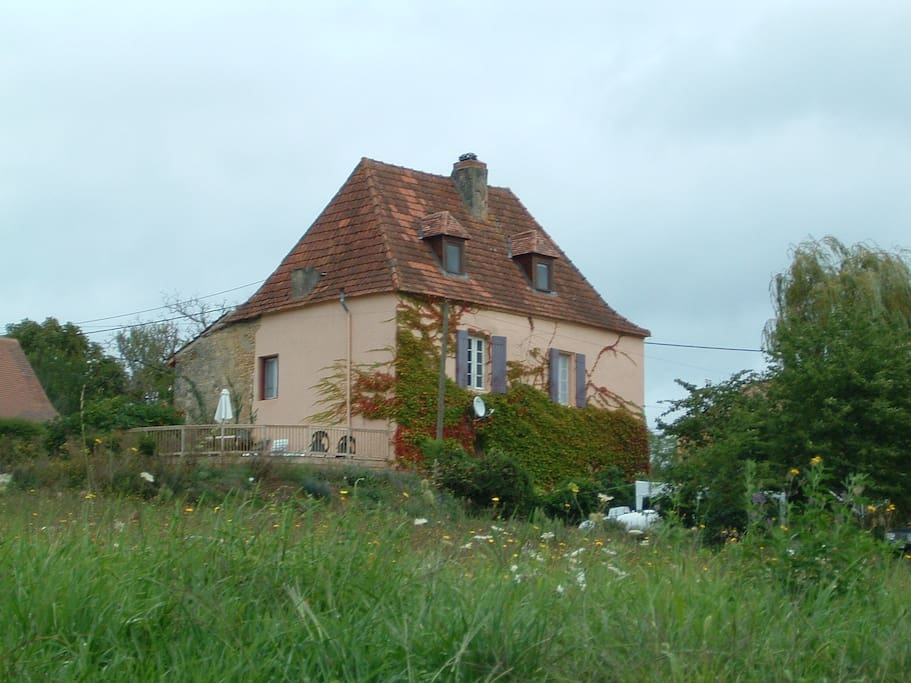The house from the Mairie