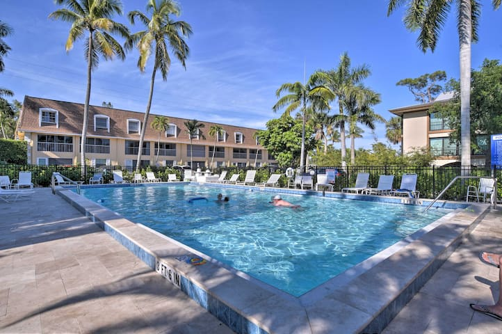 NEW! Naples Condo w/Pool - Walk to Dining & Beach