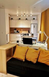 Уютная, современная light квартира в центре города