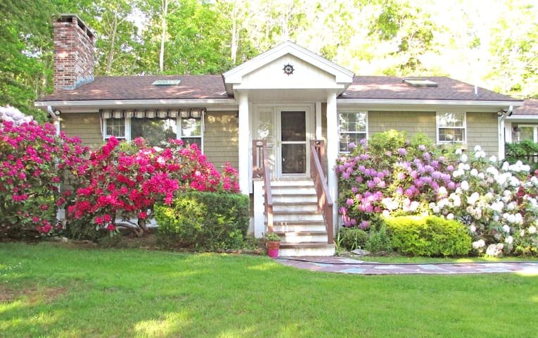 The Poplars - A Cozy Home in Boothbay Harbor