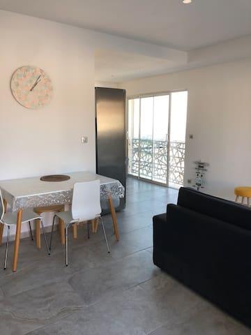 Appartement 3 pièces, calme et spacieux