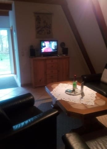 lounge and tv