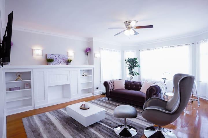Elegant 3BR/1BA Apartment Suite
