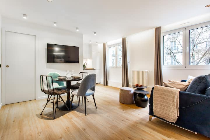 Amazing apartment - 4P/1BR - Canal Saint Martin