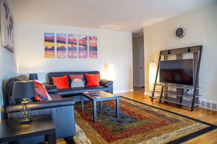Spacious w/ Great Location | Cable & Free Parking