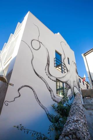 Stunning town house overlooking Gibraltar.