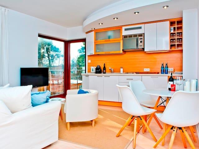 Klimatyczny apartament w Juracie NW23 - Jastarnia - Appartement