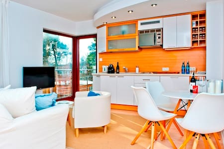 Klimatyczny apartament w Juracie NW23 - Jastarnia - Leilighet