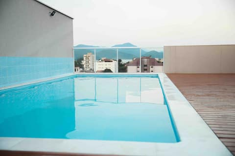 Home Studio 1 Ubatuba-SP- Praia Itaguá-Flat Novo