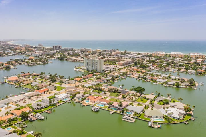 St. Pete Beach Waterfront Home w/Pool