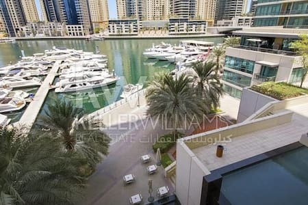 Luxury 1 bedroom Marina & JBR view. Almajara Tower