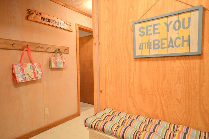 Parrothead Retreat offers shared private association beach access about 100 yards from the front door!