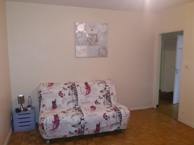 Appartement agréable et confortable
