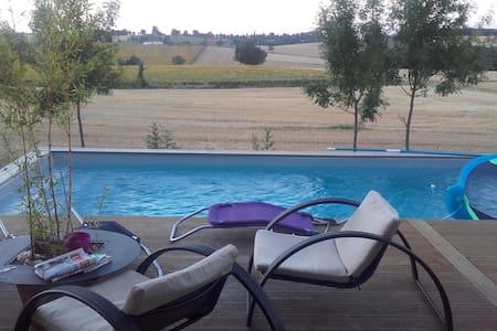 Maison de campagne - Roquelaure-Saint-Aubin