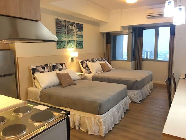 Studio for 4 in US Embassy Manila - Manila - Apartment